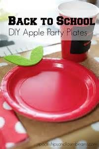 this is just a picture, no link. cute idea for an apple plate