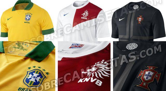 Camisetas: Nuevas Nike Brasil, Holanda y Portugal 2013: http://www.elenganche.es/2013/01/camisetas-nuevas-nike-brasil-holanda-y-portugal-2013.html#