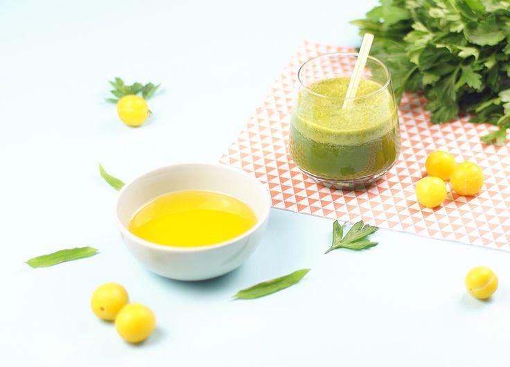 Astuce nutrition : ajoutez de l'huile à vos jus et smoothies pour booster votre apport en vitamines et oméga-3 !