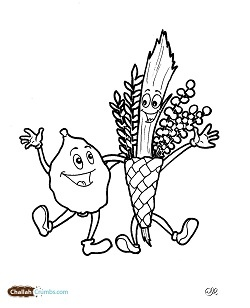Sukkot Is One Of The Most Important Jewish Holidays Coloring Pages For Kids A Beautiful Way To Spend Holiday And Decorating Ideas
