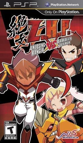 Z.H.P. Unlosing Ranger vs. Darkdeath Evilman  Z.H.P. is an all new IP developed by the same team that brought the Disgaea series. The game retains the same hardcore #SRPG aspects of #Disgaea, but with a deeper customization feature for the character and even more randomly generated contents in battles. Known as #ZettaiHero Keikakuin Japan, Z.H.P. is the only turn based strategy RPG that allows you to create your own, one and only super hero to fight vicious #villains.