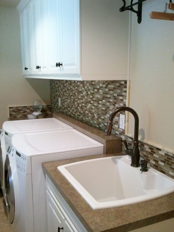 94 best mudroom laundry room images on pinterest home for Mudroom sink ideas