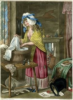 18th century washerwoman - Google Search