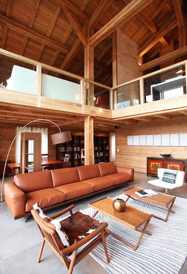 49 best ossature bois images on Pinterest | Homes, Chalets and Live