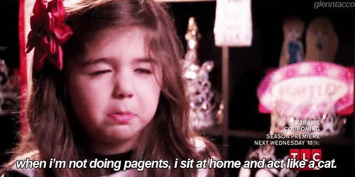 """When they had questionable hobbies. 