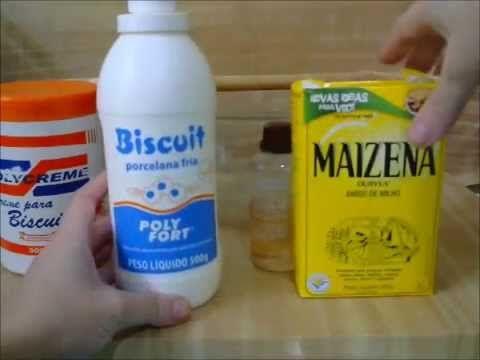 Como fazer Massa de Biscuit Caseira - YouTube
