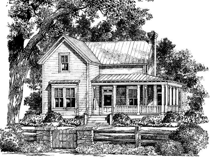 Eplans country house plan bucksport cottage from the for Country living house plans