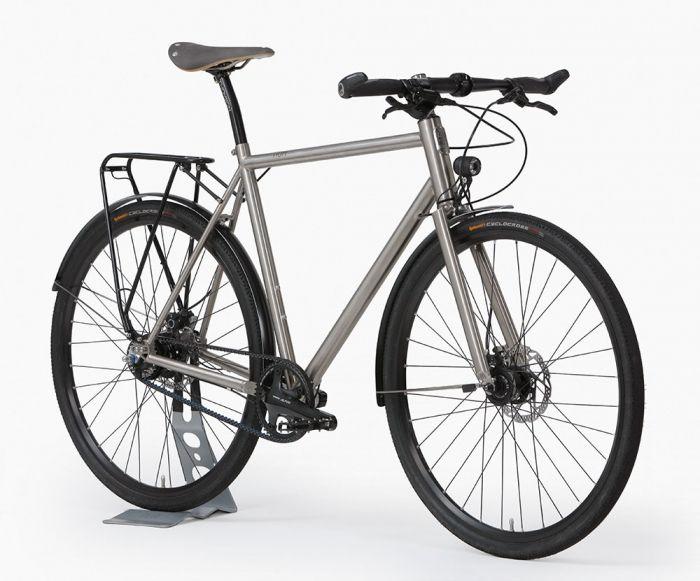 Nua Bikes Nua Audac Titanium bikes, frames and