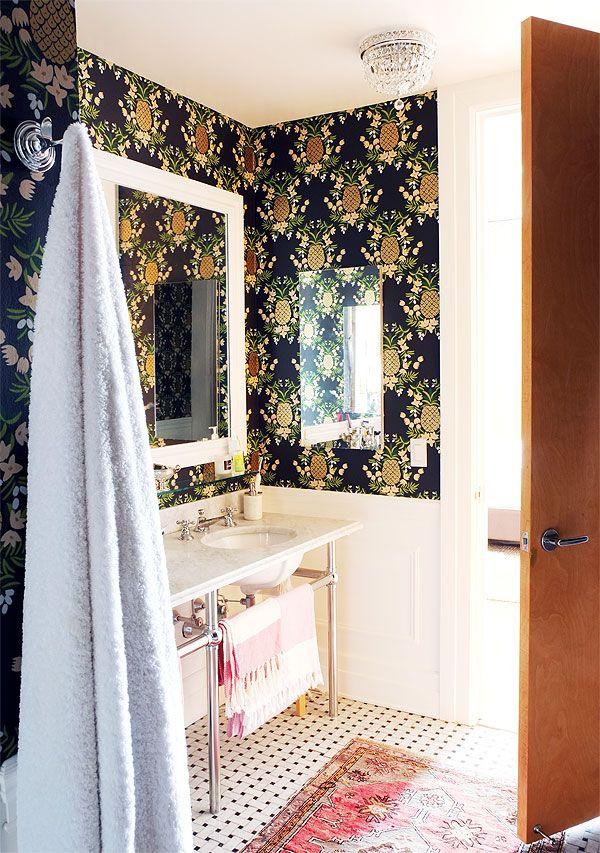 Manhattan Nest | Ana Gasteyer's Bathroom Makeover