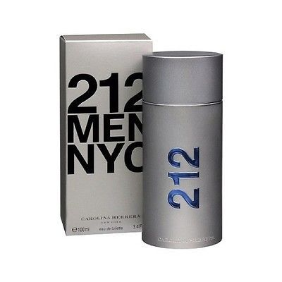 Mens Fragrances: Carolina Herrera 212 Men Nyc Eau De Toilette Spray 3.4 Oz 100 Ml New In Box -> BUY IT NOW ONLY: $55.79 on eBay!