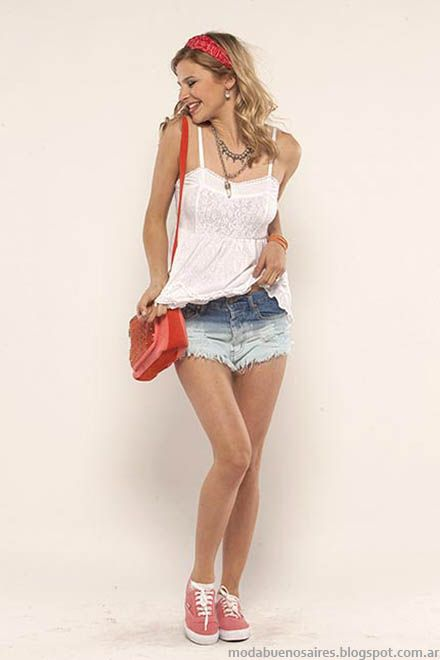 Look verano 2015 moda y tendencias del verano 2015 Doll Fins.