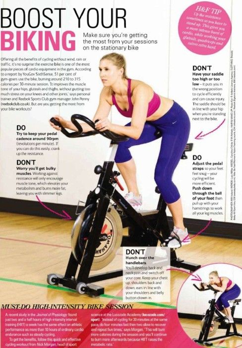 Boost Your Biking. Great tips for spin class and spinning at home.