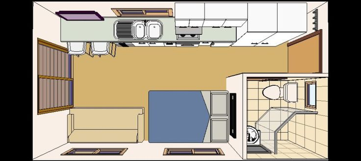 Converting a one car garage into studio apartment google for Garage studio apartment