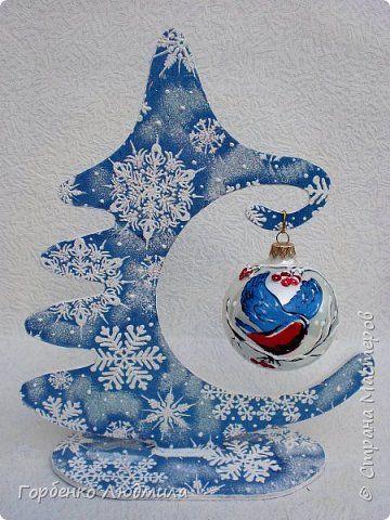 Добрый вечер,Страна! Сегодня я к Вам со своими ёлками-подвесками для новогодних шаров! Подробный мастер-класс по их изготовлению можно посмотреть здесь http://stranamasterov.ru/node/985879 Работ много,как и фотографий! фото 29