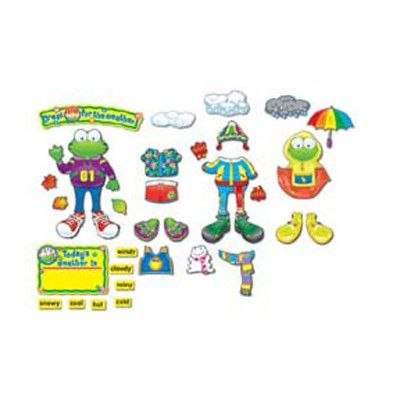 Carson Dellosa Publications Weather Frog Bulletin Board Cut Out Set