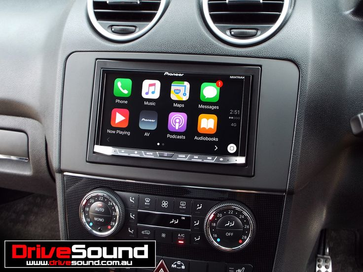 mercedes benz ml63 amg with apple carplay installed by. Black Bedroom Furniture Sets. Home Design Ideas