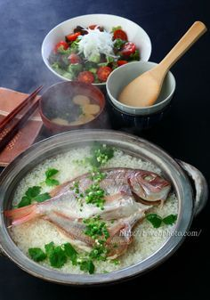 Sea Bream Rice 鯛めし