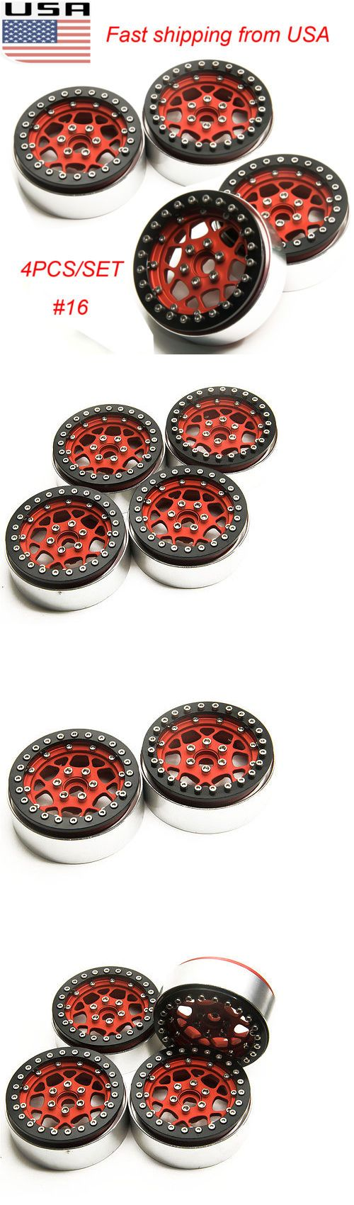 Wheels Tires Rims and Hubs 182201: 4Pcs 2.2 Alloy Beadlock Wheel Rims W Hubs For Axial Wraith 1:10 Rc Crawler Us -> BUY IT NOW ONLY: $55.99 on eBay!