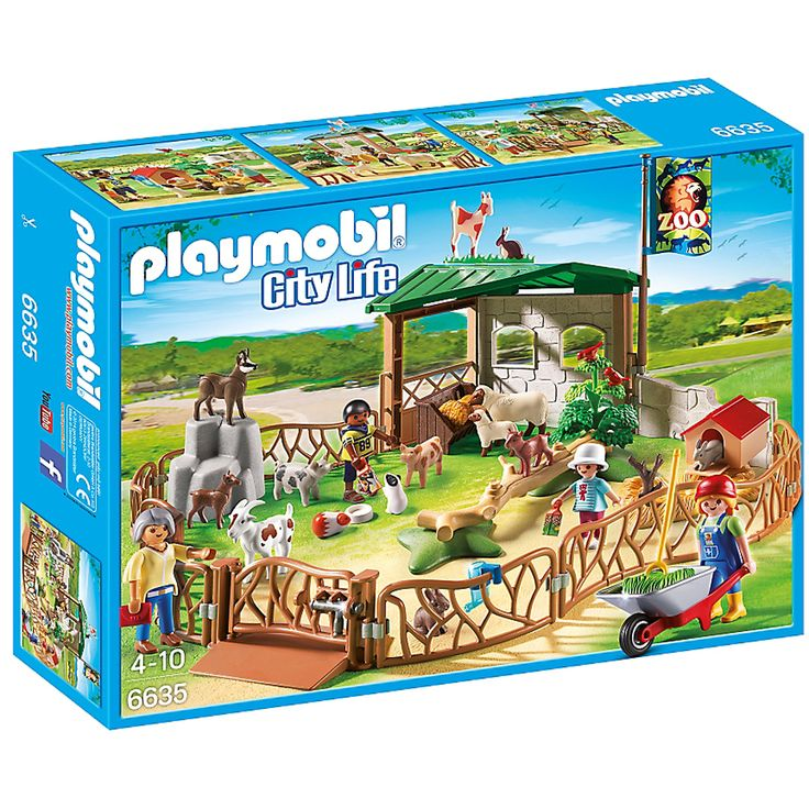 Buy Playmobil City Life Children's Petting Zoo (6635) here at Zavvi. We have great prices on Games, Blu-rays and more; as well as free delivery available!