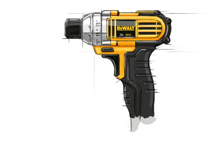 Power tool Sketches by Christopher Cate at Coroflot.com