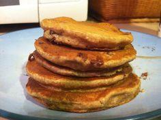 Vegan Banana Peanut Butter Pancakes (21 Day Fix Friendly Recipe)