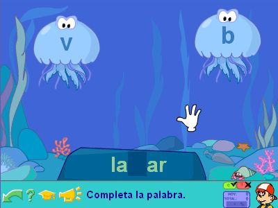 Spanish Spelling Game