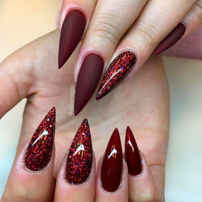 27 Glamorous Stiletto Nail Designs You'll Adore | Nails✨ | Nails, Nail  designs, Acrylic Nails - 27 Glamorous Stiletto Nail Designs You'll Adore Nails✨ Nails