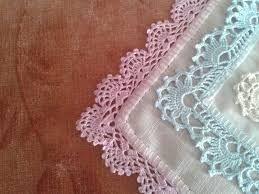 Resultado de imagen para tejido a gancho para orillas de servilletas
