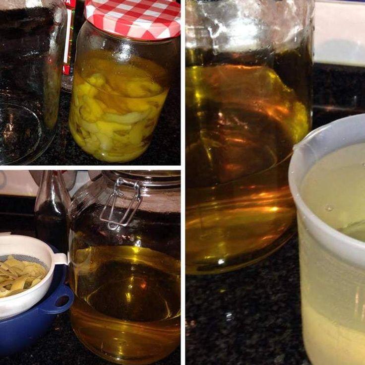 Receita Limoncello (licor de limão) por flammar - Categoria da receita Bebidas