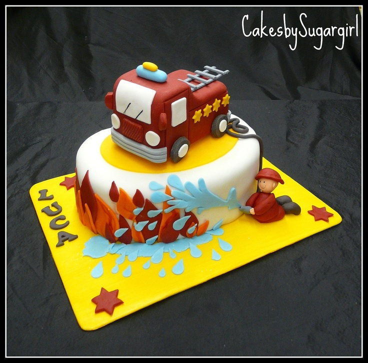 fire truck cake 17 best images about firefighter cakes on 4072