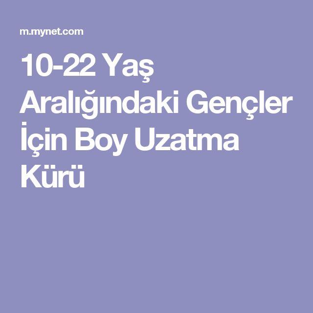 10-22 Yaş Aralığındaki Gençler İçin Boy Uzatma Kürü