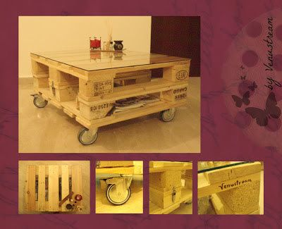 Table from pallets..