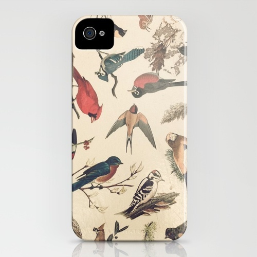 Vintage Songbirds iPhone Case. If you're in the mood to give me