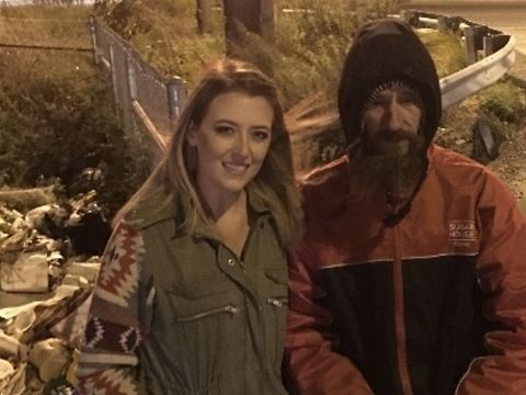 """""""I wish that I could do more for this selfless man, who went out of his way just to help me that day,"""" she wrote on the fundraising page. """"Truly believe that all Johnny needs is one little break. Hopefully with your help I can be the one to give it to him.""""<br><br>Donations have poured in, and the fundraiser has shattered its goal of raising $10,000 for Bobbitt. About 2,000 people had given to the campaign by Wednesday evening."""