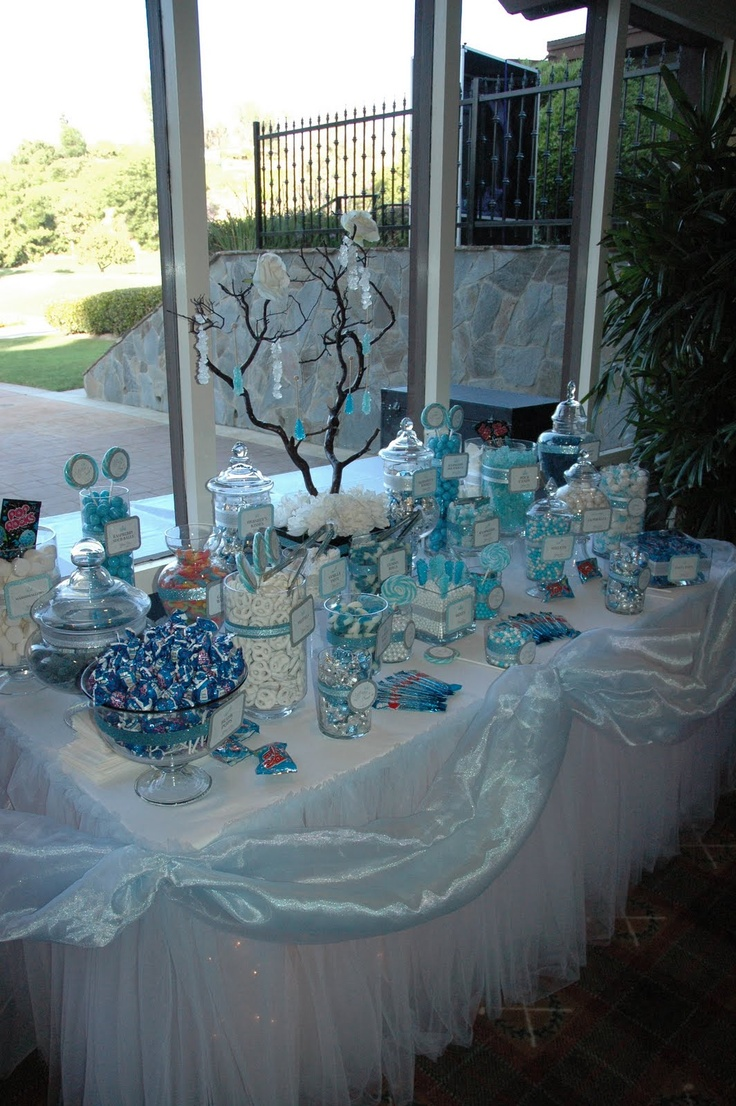 best 25 blue candy bars ideas on pinterest blue candy buffet