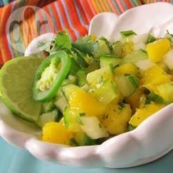 Spicy Mango and Cucumber Salsa @ allrecipes.com.au