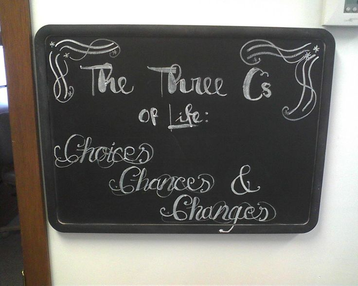 Probation Chalkboard
