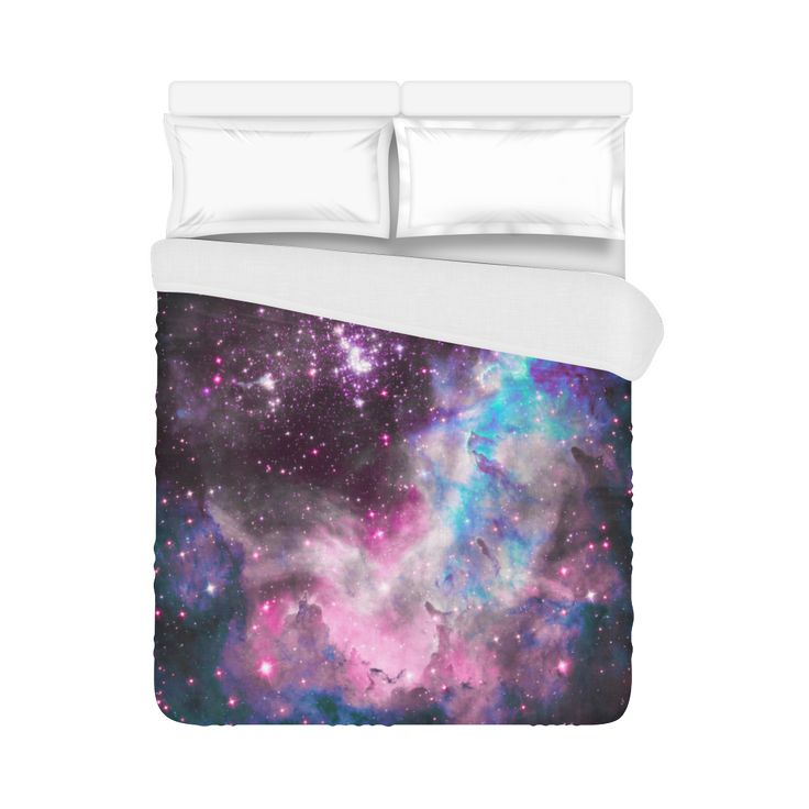 "Galaxy cluster Duvet Cover 86""x70"" ( All-over-print)"