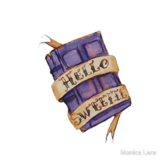 """So want this as my next tattoo...  """"Hello Sweetie"""" (by Monica Lara)"""