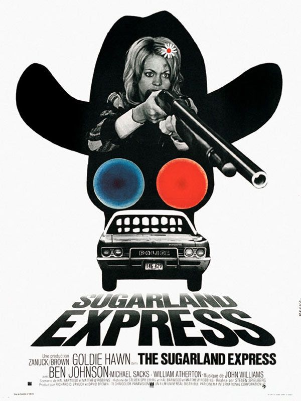 Sugarland Express (1974) - A Directed by Steven Spielberg - Starring Goldie Hawn
