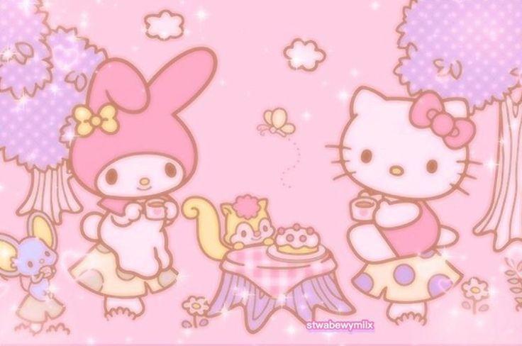 Cr Stwabewymilx On Ig Sanrio Wallpaper Melody Hello Kitty Hello Kitty Aesthetic