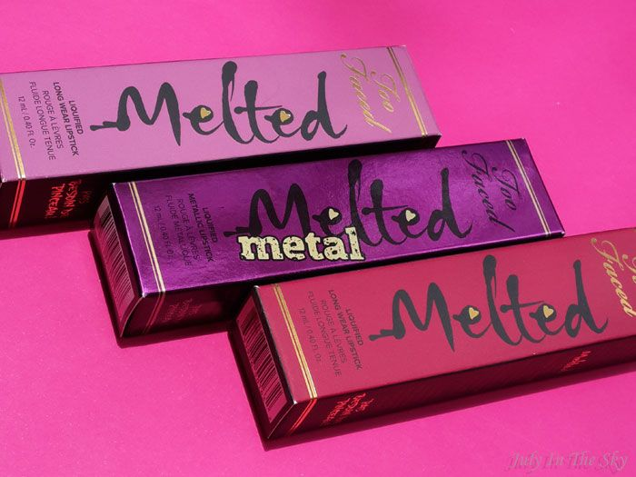 July In The Sky - Blog Beauté et Photo : too faced melted metal berry fig jelly avis test