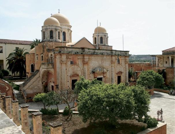 Χανιά: Μονή Αγίας Τριάδας  Chania: Monastery of Holy Trinity    Crete
