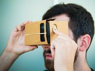 Google's cardboard VR headset is no joke -- it's great for the Oculus Rift Virtual reality may be one of the most important new frontiers in tech. But its pioneers still need to sell the public on the idea of reality-escaping face computers. Enter Google Cardboard.