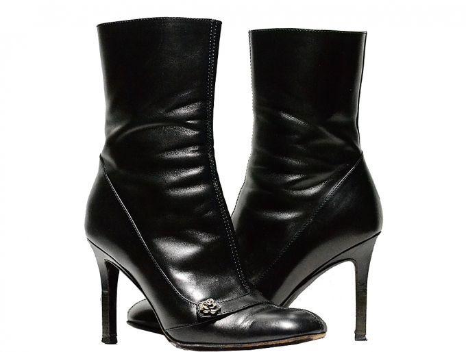 Lace-Up High Sandal, Bottines Femme, Noir (Black 1), 38 EUNew Look