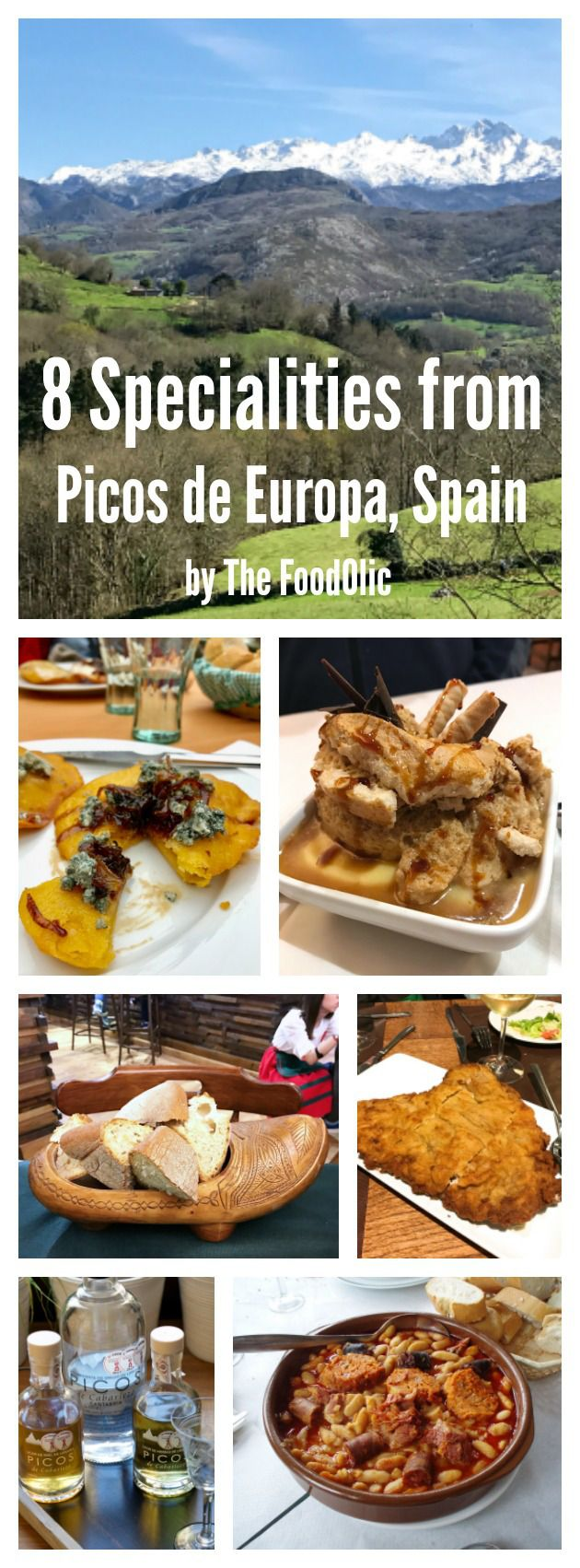 Specialities from the Nationa Park Picos de europa, Spain. #Spain #gastronomy #PicosdeEuropa