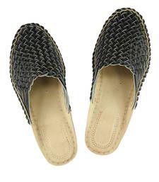Buy eKolhapuri Attractive Looking Black Laces Kolhapuri Leather Shoe For Men footwear online