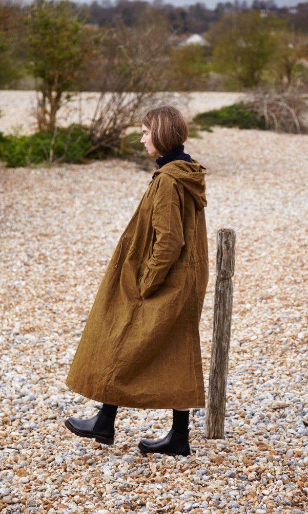Kelby wax coat - Plümo Ltd