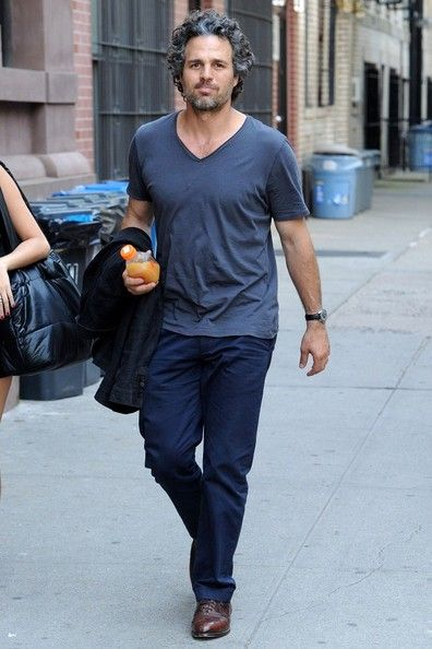 Mark Ruffalo. He gets better with age. More scruffier & yummier...