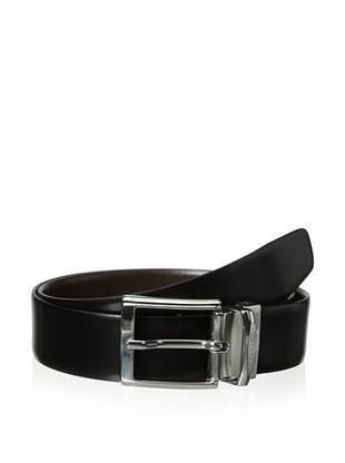a.testoni Men's Box Karibu Calf Belt